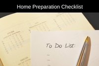 Home Preparation Checklist